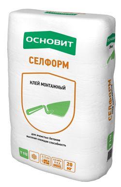 Основит Т-112 Селформ пенобетон кладочный раствор (20 кг)