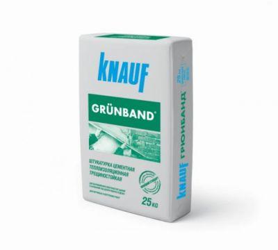 КНАУФ Грюнбанд- штукатурка цементная теплоизоляционная фасадная (25 кг)