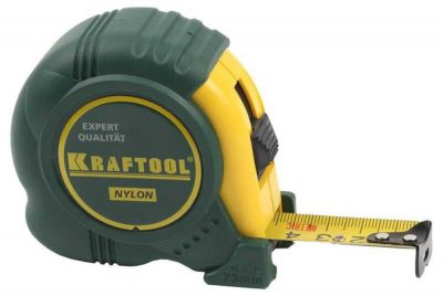 рулетка kraftool 5м, 19мм с нейлоновым покрытием